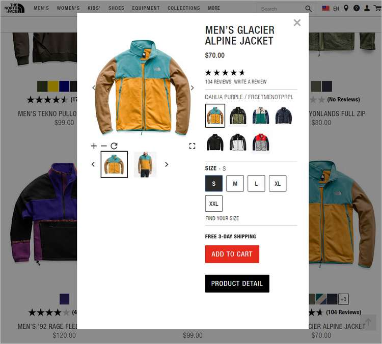 North Face интернет магазин